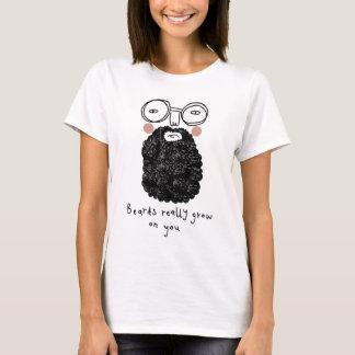 Bärte wachsen wirklich auf Ihnen T-Shirt