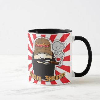 Bärtige Samurai-Tasse Tasse