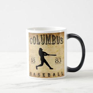 Baseball 1883 Columbus Ohio Verwandlungstasse