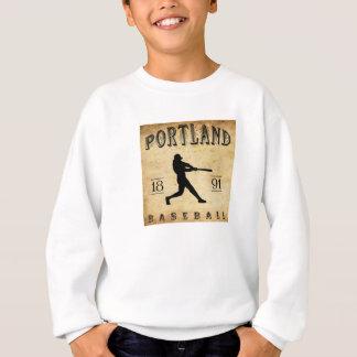 Baseball 1891 Portlands Connecticut Sweatshirt