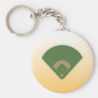 Baseball-Diamant: Keychain Schlüsselanhänger