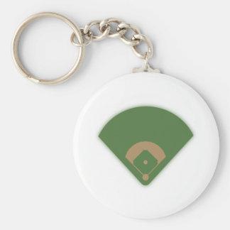 Baseball-Diamant: Schlüsselanhänger