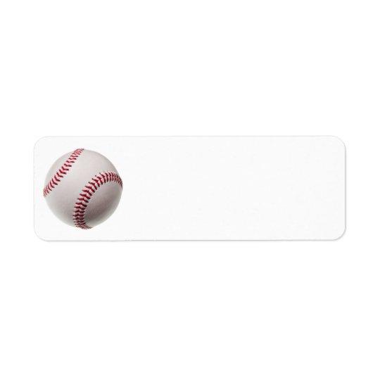 Baseball - fertigen Sie Rücksende Aufkleber