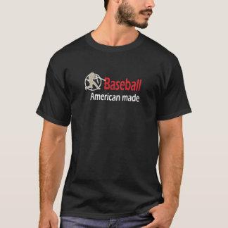 Baseball.  Gemacht in Amerika-T - Shirt