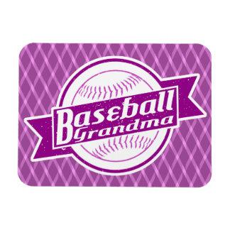 Baseball-Großmutter-Magnet Magnet