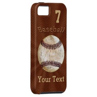 Baseball iPhone Hüllen mit IHRER ZAHL und NAMEN