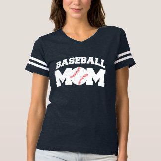 Baseball-Mamma lustig und niedlich T-shirt
