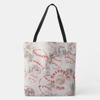 Baseball-Mamma-Schmutz-Druck-Tasche