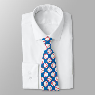 Baseball-Muster Bedruckte Krawatten