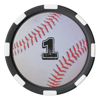 Baseball-Pokerchips Poker Chips Set