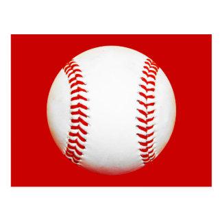 Baseball-Postkarte Postkarte