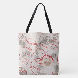Baseball-Schmutz-Druck-Tasche