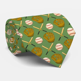Baseball u. Schläger-Krawatte Krawatte