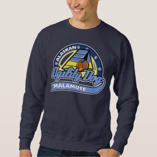 Baseballalaskischer Malamute-Agility Sweatshirt