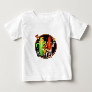 BaseballBots Cornbot AcornBot Baby T-shirt