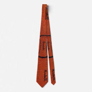 Baseballentwurfs-Krawatte für Männer Krawatten