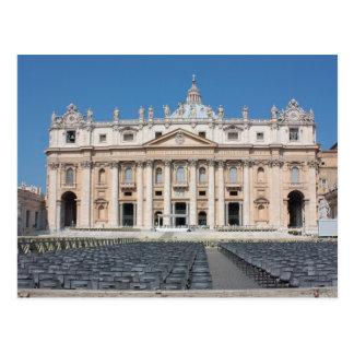 Basilica di San Pietro, Vatikanstadt, Rom, Italien Postkarte