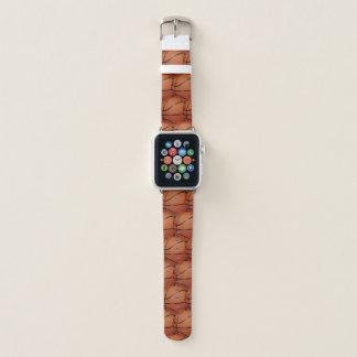 Basketball-abstraktes Entwurfs-Apple-Uhrenarmband Apple Watch Armband
