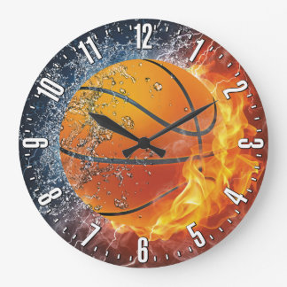 Basketball-dekorative Wand Uhr