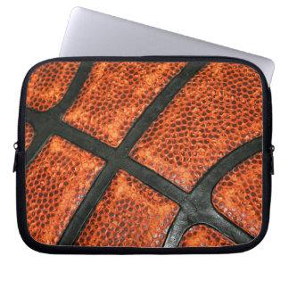 Basketball-Muster Laptop Sleeve