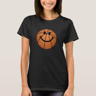 Basketball-Smiley T-Shirt