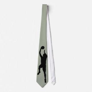 Basketball-Spieler-Krawatte Individuelle Krawatte