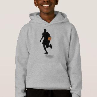 Basketball-Spieler scherzt Hoodie