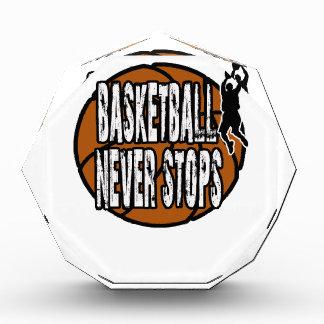 Basketball stoppt nie auszeichnung