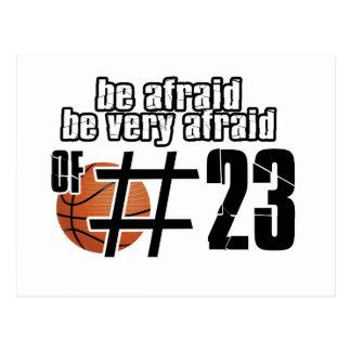 Basketballentwürfe der Nr.-23 Postkarten