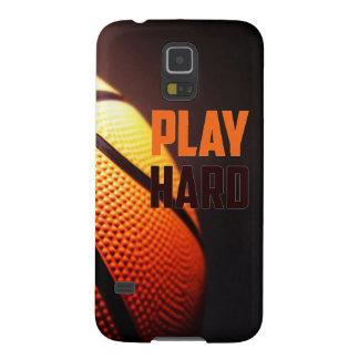 Basketballmotivation - Spiel stark durch Galaxy S5 Cover