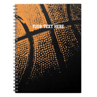Basketballnotizbuch | Gewohnheits-Schulbedarf Spiral Notizblock
