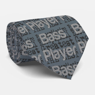 Bass-Spieler Extraordinaire Krawatte
