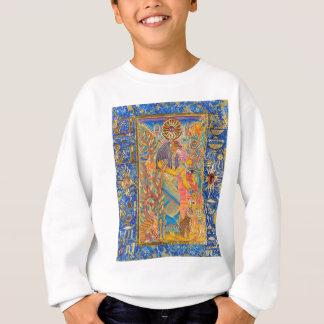 Bast (Kunst auf vorderer/einfacher Rückseite) Sweatshirt