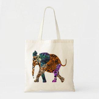 Batik-Art-Baby-Elefant-Taschentasche Tragetasche