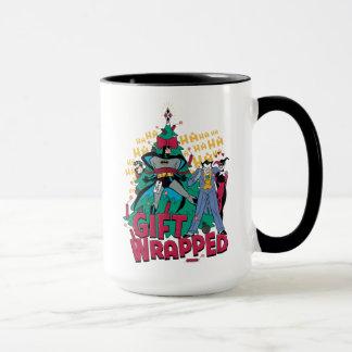 Batman | Batman u. Robin-Geschenk eingewickelt zu Tasse