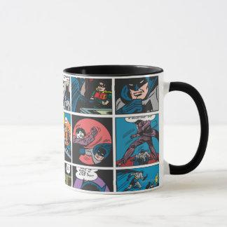 Batman-Comic-Platte 5x5 Tasse
