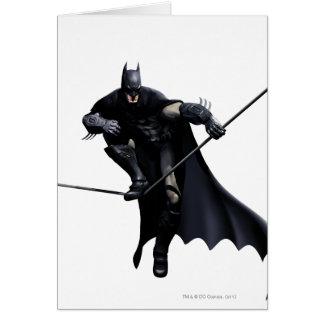 Batman, der auf Linie tritt Karte