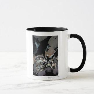 Batman, der Bogen-Feinde kämpft Tasse