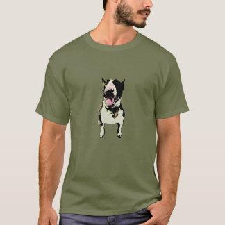 Batman der Bullterrier T-Shirt