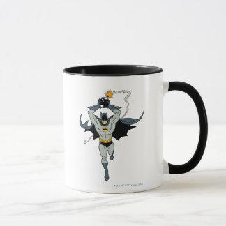 Batman, der mit Bombe läuft Tasse