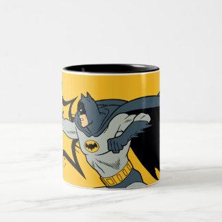 Batman-Durchschlag Zweifarbige Tasse