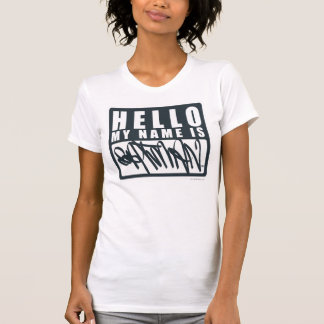 Batman | hallo mein Name ist Batman-Logo T-Shirt