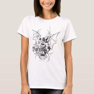 Batman mit Logo und Flügeln T-Shirt