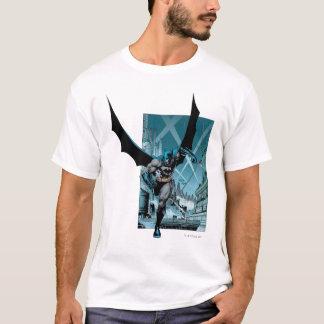 Batman mit Stadthintergrund T-Shirt