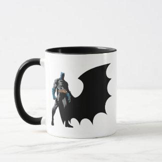 Batman - schwarzes Kap Tasse