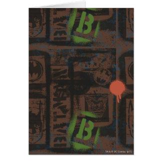 Batman-Straßen-Helder - 2 - Grün/Brown-Muster Karte