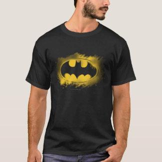 Batman-Symbol | schwarzes und gelbes Logo T-Shirt