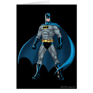 Batman-Tritte Karte