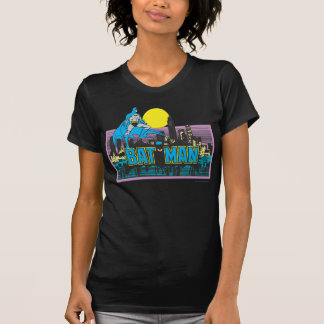 Batman u. Buchstaben T-Shirt