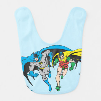 Batman u. Robin Lätzchen